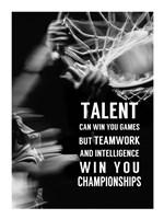 Teamwork and Intelligence Fine-Art Print