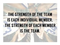 The Strength of the Team Fine-Art Print