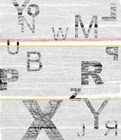 Numbers Grey Fine-Art Print