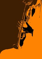 Jazz Orange 2 Fine-Art Print