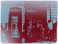 London Telephone Booth Fine-Art Print