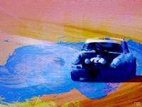 911 On The Racetrack Fine-Art Print