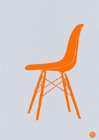 Orange Eames Chair Fine-Art Print