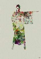 Kimono Dancer 4 Fine-Art Print