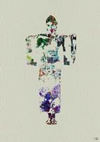 Kimono Dancer 7 Fine-Art Print