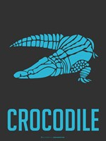 Crocodile Blue Fine-Art Print