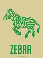 Zebra Green Fine-Art Print