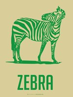 Zebra Green 2 Fine-Art Print