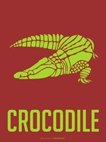 Crocodile Yellow Fine-Art Print