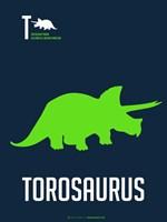 Green Dinosaur Fine-Art Print