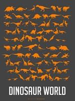 Dinosaur Orange Fine-Art Print