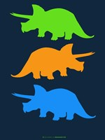 Dinosaur Family 6 Fine-Art Print