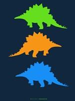 Dinosaur Family 8 Fine-Art Print