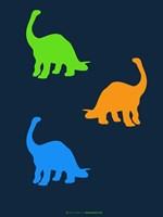 Dinosaur Family 18 Fine-Art Print