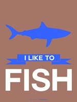I Like to Fish 3 Fine-Art Print