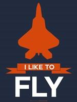 I Like to Fly 1 Fine-Art Print