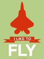 I Like to Fly 3 Fine-Art Print