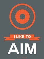 I Like to Aim 1 Fine-Art Print