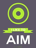 I Like to Aim 3 Fine-Art Print