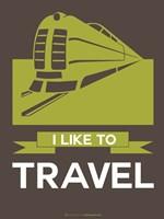 I Like to Travel 2B Fine-Art Print