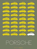 Porsche Yellow Fine-Art Print