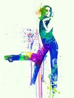 Mustang Girl 2 Fine-Art Print