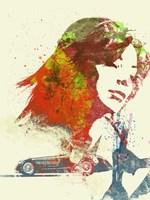 Ferrari Girl Fine-Art Print