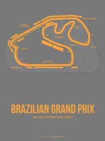 Brazilian Grand Prix 1 Fine-Art Print
