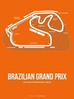 Brazilian Grand Prix 3 Fine-Art Print