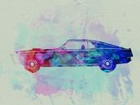Ford Mustang Watercolor 1 Fine-Art Print