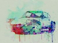Porsche 911 Watercolor 2 Fine-Art Print