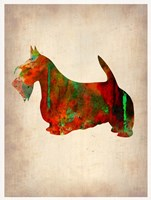 Scottish Terrier Watercolor 2 Fine-Art Print