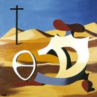 Desert Play Fine-Art Print
