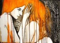 Girl with Orange Hair Fine-Art Print