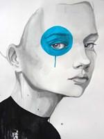 Blue Dot Fine-Art Print
