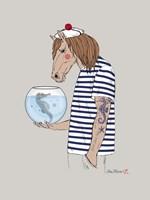 Horse Sailor Fine-Art Print