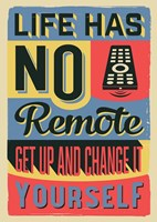 Get Up And Change Yourself Fine-Art Print