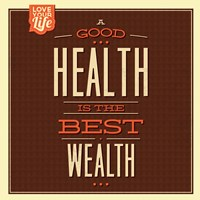 Health is Wealth Fine-Art Print