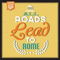 Roads To Rome Fine-Art Print