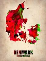 Denmark Watercolor Fine-Art Print