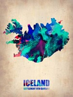 Iceland Watercolor Fine-Art Print