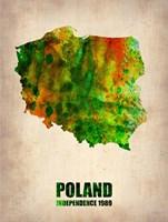 Poland Watercolor Fine-Art Print