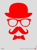 Hats Glasses and Mustache 2 Fine-Art Print