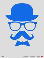 Hats Glasses and Mustache 3 Fine-Art Print