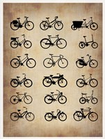 Vintage Bicycles Fine-Art Print