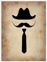 Hat Glasses and Mustache 2 Fine-Art Print