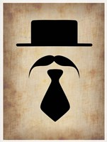 Hat Glasses and Mustache 5 Fine-Art Print