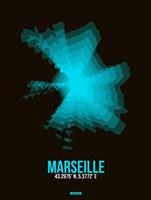 Marseille Radiant Map 2 Fine-Art Print