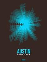 Austin Radiant Map 1 Fine-Art Print