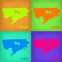 Detroit Pop Art Map 1 Fine-Art Print